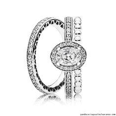 http://www.pandoraringssaleclearance.com/Pandora-rings-sale-clearance-Vintage-Elegance-Ring-Stack