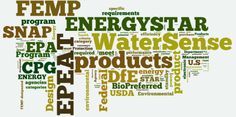 Environmental programs help buyers identify products and services with positive environmental attributes.  Some are mandatory for federal buyers, while others support the achievement of E.O. 13514 and agency sustainability goals.