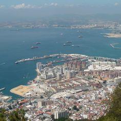 Gibraltar, United Kingdom (#1st stop)