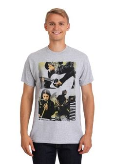 9d93e0d2741 Nirvana Photo Collage Shirt cotton polyester Heavy cotton Print image of  Nirvana Officially licensed (sponsored link)