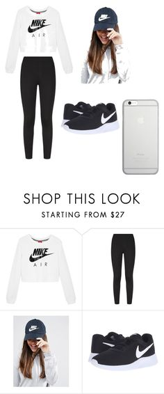 """Workout"" by ccpugs on Polyvore featuring NIKE and Native Union"