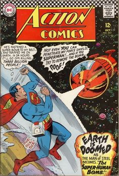 A cover gallery for the comic book Action Comics Old Superman, Superman Action Comics, Superman Comic, Dc Comics Art, Fun Comics, Marvel Comics, Superman Artwork, Superman Family, Batman
