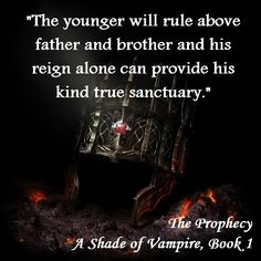 A Shade of Vampire, Book 1 Vampire Quotes, Vampire Books, Good Books, Books To Read, My Books, Book Series, Book 1, A Shade Of Vampire, Vampire Series