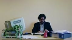 Office Work Busy Employee 1 Stock Footage Clip