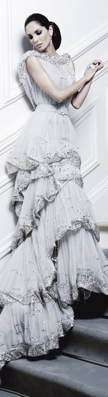 Armani Glamour Gown- V