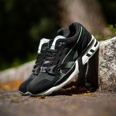 premium selection 3170a a8c1f puma trinomic flyknit green black