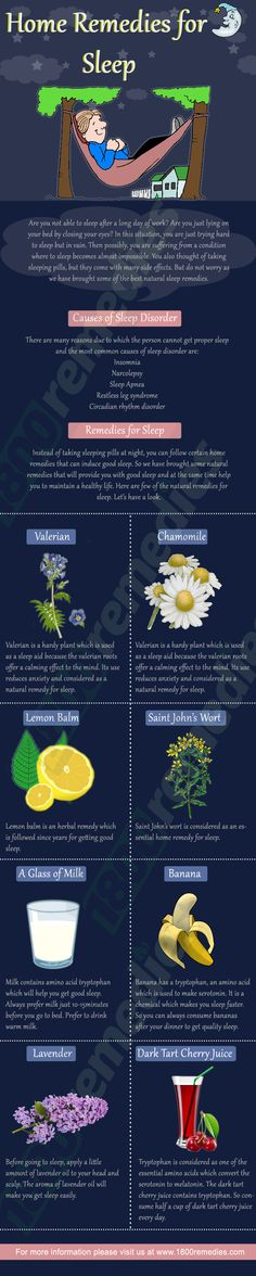 We have brought some natural remedies that will provide you with good sleep and at the same time help you to maintain a healthy life.