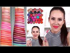 ColourPop Lippie Stix Lip Swatches | Beauty with Emily Fox - YouTube