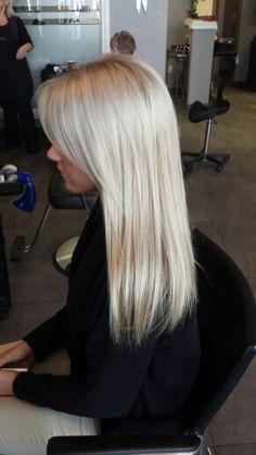 Ice blonde Insta:hairbyamandafleming