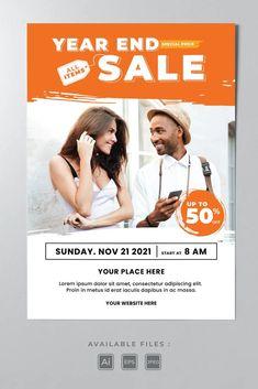 Sale Poster Template AI, EPS Sale Poster, All Sale, Lorem Ipsum, Poster Templates