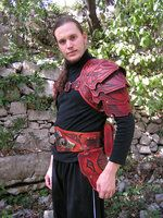 Celtic Hard Leather Armour by ~Bear-Crafter on deviantART