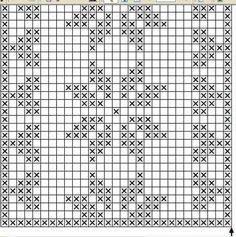 Lace insertion or edging in filet crochet Filet Crochet, Crochet Mittens, Crochet Diagram, Crochet Chart, Thread Crochet, Crochet Stitches, Crochet Pattern, Crochet Table Runner, Crochet Tablecloth