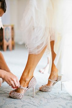 Style Me Pretty | Ojai Wedding from Birds of a Feather | Wedding Shoes Photography: Birds of a Feather - birdsofafeatherphoto.com Floral Design: Gilly Flowers - gillyflowers.com/