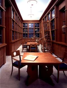 BARBARA GOLDSMITH RARE BOOK ROOM American Academy of Rome Rome, Italy