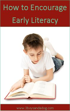 How To: Five Ways to Encourage Early Literacy (besides read good books to them whenever you can?)