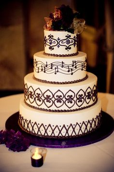 I love the music note idea since my fiance and I are both band geeks lol