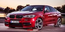 BMW X6 M rendered by X-Tomi Design