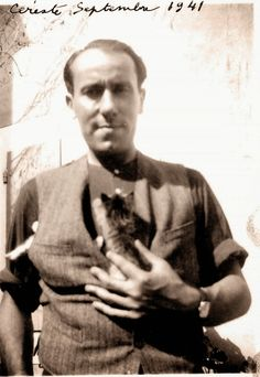 Rene Char - Highly respected and successful Resistance leader, code name Alexandre Mark Twain, Rene Char, Blurry Pictures, Buddy Love, Curiosity Killed The Cat, Free Photography, Cat People, Almost Famous, Black White Photos