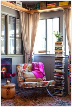 Love this reading nook....I'm such an avid reader. This is a must have.