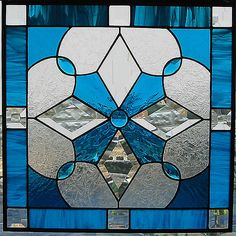 stained glass - like this color of blue.