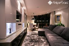 Sala de Estar - Felipe Saia Arquitetura