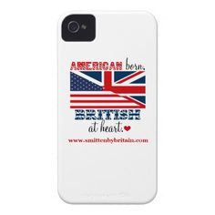 Get my Smitten by Britain iPhone 4/4S cover now! My graphic design but product is sold through Zazzle.
