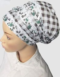 How to tie various styles of head scarves.
