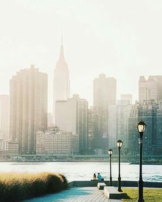 Brooklyn looking at Manhattan - New York City