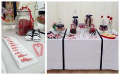 A Sweet Table for competition winners of A Heroes Wedding, September 2013