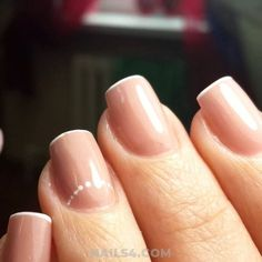 Easy French Nail Design Ideas / Ceremonial And Professionail Acrylic Manicure Ideas French Nail Designs, Nail Art Designs, French Nails, Nailart, Manicure Ideas, Clever, Design Ideas, Easy, Top