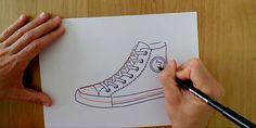 ¿Quieres ser diseñador de calzado y no sabes por dónde empezar?  Queremos ayudarte con este vídeo tutorial del diseño de unas zapatillas. 👟  Seguro que ya conoces el modelo Converse All-Star ¿Pero sabes dibujarlas?