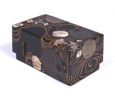 水葵蒔絵螺鈿硯箱 伝尾形光琳 江戸時代18世紀