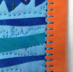 Binding Stitch Tip - Blanket Stitch