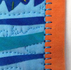 Binding Stitch Tip - Blanket Stitch