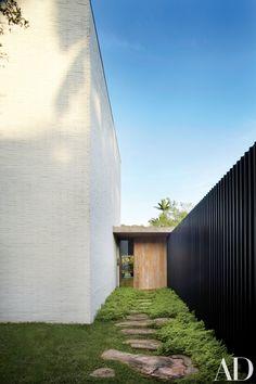Isay Weinfeld designed home in São Paulo, Brazil.