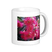Beautiful Australian Gum Nut Flowers Design Classic White Coffee Mug