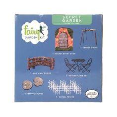 Arcadia Garden Products Secret Garden Polyresin Fairy Garden Kit (12-Piece) FG10 at The Home Depot - Mobile