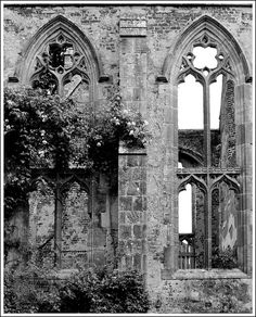 What makes these windows gothic? It features a sharp pointed top with arched sides.