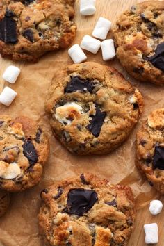 Scientifically Sweet: Gooey S'mores Cookies