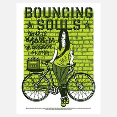 The Bouncing Souls DC, $19, now featured on Fab. [El Jefe Design, Black Cat]