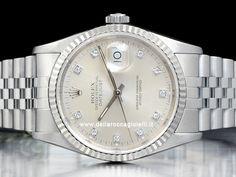 Orologi Rolex Datejust Ref 16234 - 16220 - 116234 Prezzi Rolex Datejust, Body Jewelry, Oysters, Rolex Watches, Clock, Accessories, Fashion, Watch, Moda