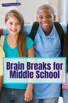 It's absolutely pivotal that we make sure we are doing everything we can for middle school (including appropriate brain breaks), as their brains are going through rapid amounts of changes. The increase in student engagement will blow your mind. Social Studies Lesson Plans, Science Lesson Plans, Social Studies Activities, Movement Activities, Motor Activities, Physical Activities, Teaching Themes, Science Activities, Teaching Math