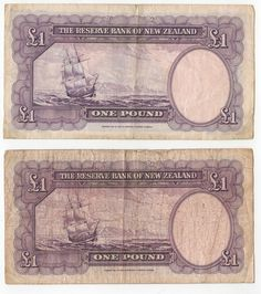 New Zealand One Pound Notes Postage Rates, One Pound, Coin Grading, Bangkok Thailand, Ancient Egypt, Geo, New Zealand, Vintage World Maps, Knowledge