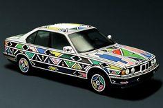 BMW 525i by esther mahlangu, 1991