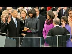 President Obama takes the Oath of Office at the U.S. Capitol and delivers his 2nd Presidential Inaugural address. #WEthePeople