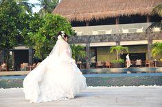 Honeymoon Memories in Maldives.