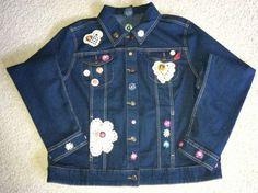 Decorated Denim Jacket.