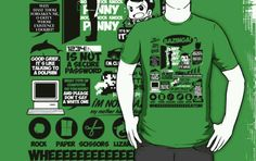 Sheldon Cooper shirt