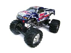 GROUND POUNDER RC CAR 1/10 SCALE BRUSHED ELECTRIC MONSTER TRUCK BY REDCAT