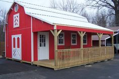 Granny pods with loft Granny pods prefab These Houses Actually Inexpensive Barn Sheds Shed Plans, House Plans, Barn Kits, Cheap Sheds, Shed Kits, Barns Sheds, Pole Barn Homes, Pole Barns, Shed Homes